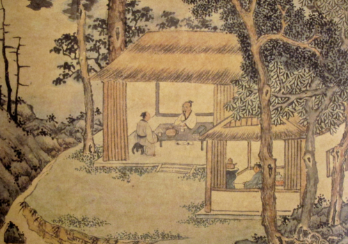 Tasting Tea by Wen Zhengming
